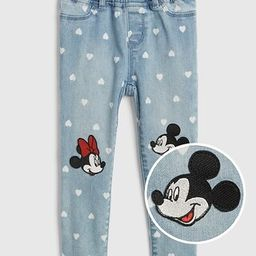 babyGap | Disney Mickey Mouse and Minnie Mouse Jeggings with Fantastiflex | Gap US