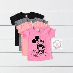Vintage Mickey Toddler Shirt Baby OOTD Mickey Mouse OOTD Cute T-Shirt Choose Shirt Color   Etsy (US)