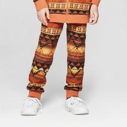 Boys' Printed Jogger Pants - art class™ Orange XS | Target