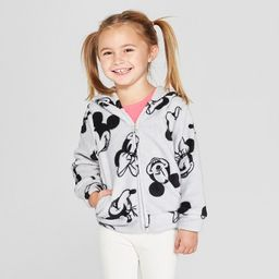 Toddler Girls' Disney Mickey Mouse & Friends Minnie Mouse Sweatshirt - Gray 2T | Target