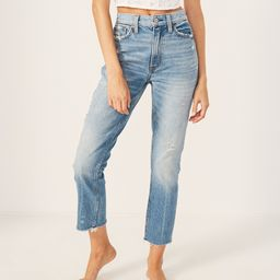 High Rise Mom Jeans   Abercrombie & Fitch US & UK