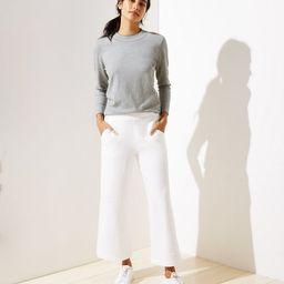 Knit Wide Leg Pull On Pants | LOFT | LOFT