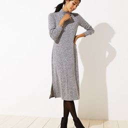 Melange Mock Neck Dress | LOFT | LOFT