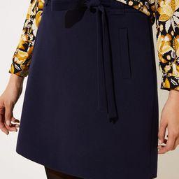 Tie Waist Shift Skirt | LOFT | LOFT