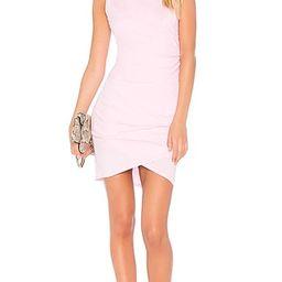 Bobi Supreme Jersey Mini Wrap Dress in Peonies | Revolve Clothing (Global)