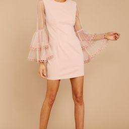 A Night To Remember Blush Pink Dress | Red Dress