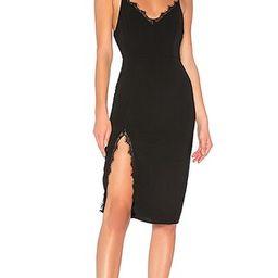superdown Brianna Midi Dress in Black | Revolve Clothing (Global)
