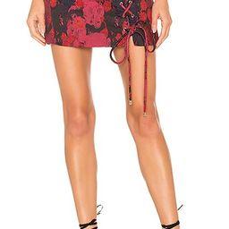 House of Harlow 1960 x REVOLVE Peyton Skirt in Rose | Revolve Clothing (Global)