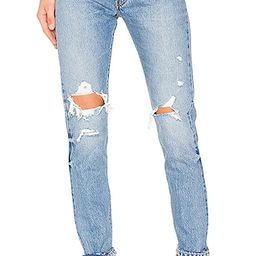 LEVI'S 501 Skinny in Old Hangouts | Revolve Clothing (Global)