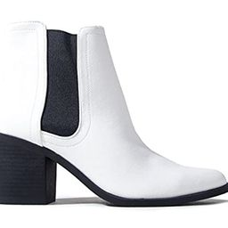 J. Adams Andi Chelsea Boot - Casual High Heel Pointed Toe Slip On Ankle Bootie   Amazon (US)