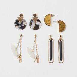 4 Pairs Earrings | H&M (US)