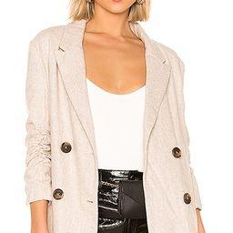Line & Dot X REVOLVE Bon Jacket in Beige | Revolve Clothing (Global)