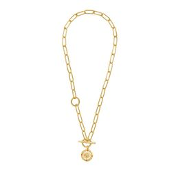 Solis Gold Toggle Necklace | Wanderlust + Co