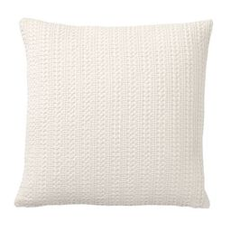 Honeycomb Pillow Cover - Ivory   Pottery Barn (US)