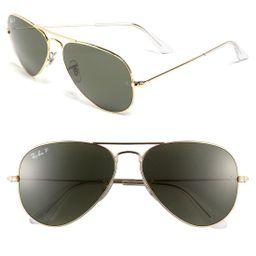 Ray-Ban Original 58mm Aviator Sunglasses | Nordstrom