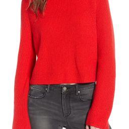 Leith Transfer Stitch Turtleneck Sweater (Regular & Plus Size)   Nordstrom