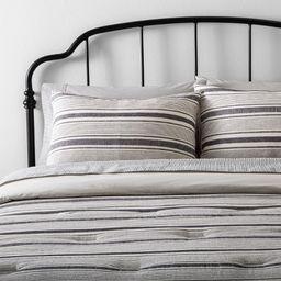 Comforter Set Yarn Dye Stripe - Hearth & Hand™ with Magnolia | Target