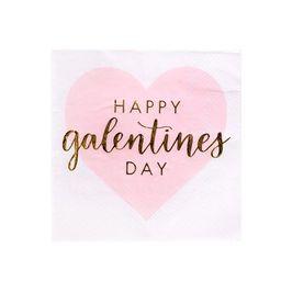 20ct Happy Galentine's Day Beverage Napkin - Spritz™ | Target