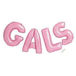 Mylar Balloon GALS Party Favor Pink - Spritz™ | Target