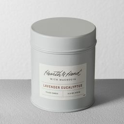 Tin Candle Lavender Eucalyptus - Hearth & Hand™ with Magnolia | Target