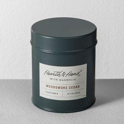 Tin Candle Woodsmoke Cedar - Hearth & Hand™ with Magnolia | Target