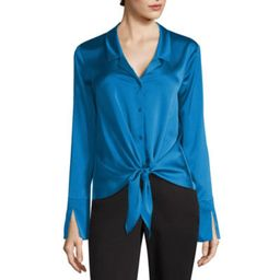 Worthington Tie Front Top | JCPenney