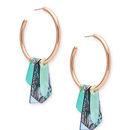 Gaby Rose Gold Statement Earrings in Abalone Mix | Kendra Scott