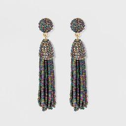 SUGARFIX by BaubleBar Metallic Tassel Drop Earrings | Target