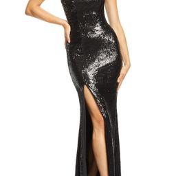 Dress the Population Ellen Strapless Sequin Evening Dress   Nordstrom