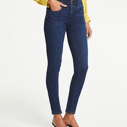 Petite High Rise Performance Stretch Skinny Jeans | Ann Taylor (US)