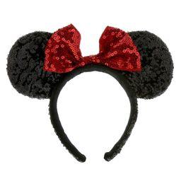 Minnie Mouse Ears Headband - Sequined | shopDisney