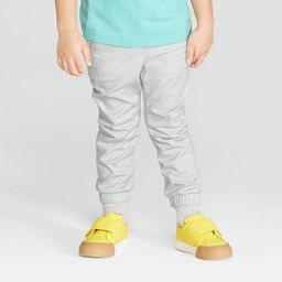 Toddler Boys' Stretch Twill Front Jogger Pants - Cat & Jack™ Gray   Target
