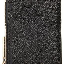 kate spade new york margaux leather zip card holder | Nordstrom