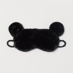 Faux fur sleep mask   H&M (US)
