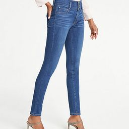 Petite High Rise All Day Skinny Jeans   Ann Taylor (US)