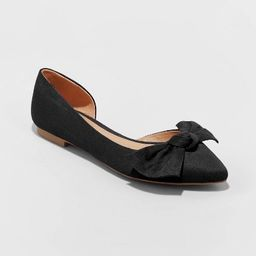 Women's Jayme Bow Ballet Flats - A New Day™   Target