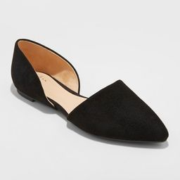 Women's Rebecca Pointed Two Piece Ballet Flats - A New Day™   Target