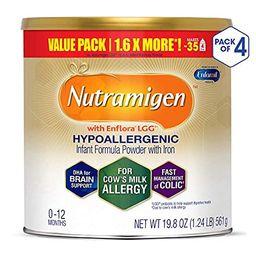 Enfamil Nutramigen Infant Formula - Hypoallergenic & Lactose Free Formula with Enflora LGG - Powder  | Amazon (US)