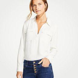 Slim Camp Shirt   Ann Taylor (US)