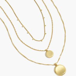 Coin Necklace Set | Madewell