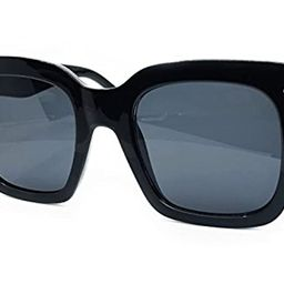O2 Eyewear 7222 Premium Oversize XXL Women Men Mirror Brand Style Fashion Sunglasses | Amazon (US)