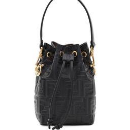 FF Calf Mon Tresor Bucket Bag   Neiman Marcus