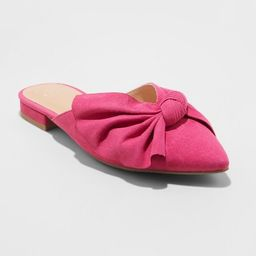 Women's Beth Bow Mules - A New Day™ | Target