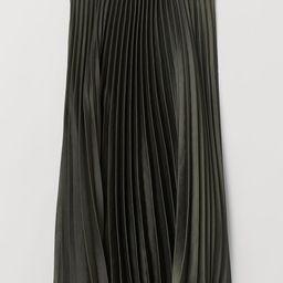 Pleated Skirt   H&M (US)