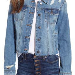 STS Blue Boyfriend Crop Denim Jacket (Bandini) | Nordstrom