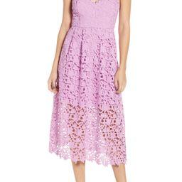 Lace Midi Dress | Nordstrom
