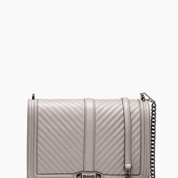 Grey Jumbo Love Crossbody Bag | Rebecca Minkoff | Rebecca Minkoff US