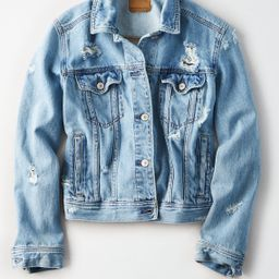 AE Classic Denim Jacket, Blue | American Eagle Outfitters (US & CA)