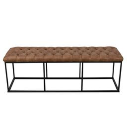 Thrapst Faux Leather Bench | Wayfair North America