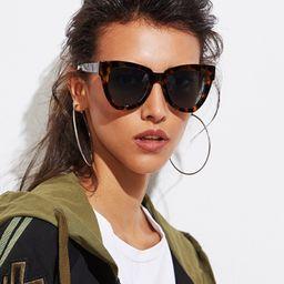 Oversized Cat Eye Sunglasses | SHEIN